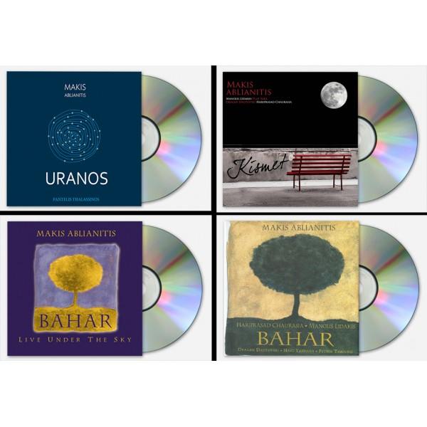 4 CD Bundle -  4 cd's του Μακη Αμπλιανιτη