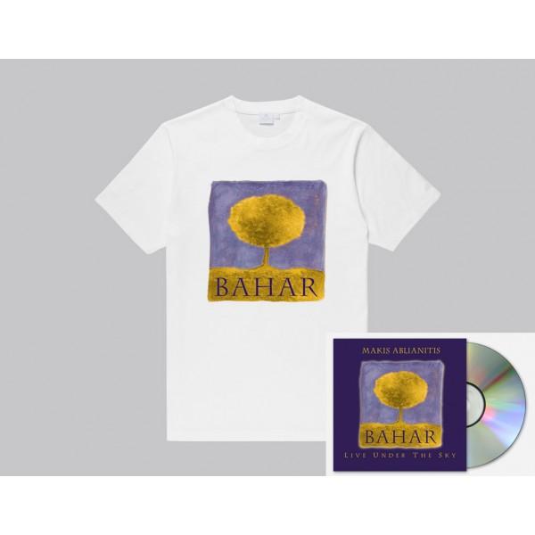 'Bahar Live' T-Shirt μαζι με 'Bahar Live' υπογεγραμμενο CD