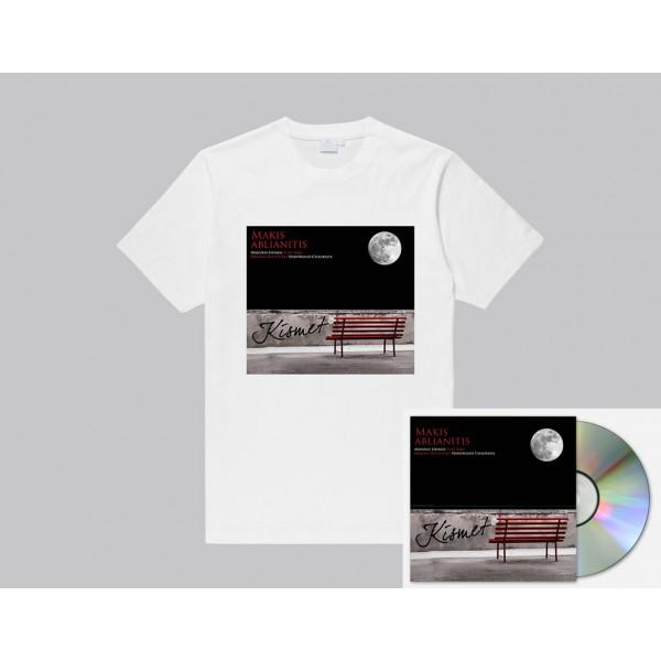 'Kismet' T-Shirt μαζι με 'Kismet' υπογεγραμμενο CD