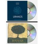CD Bundle (2 υπογεγραμμενα cd's) 'Uranos' cd - 'Bahar' cd