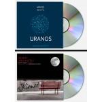 CD Bundle (2 υπογεγραμμενα cd's) 'Uranos' cd - 'Kismet' cd