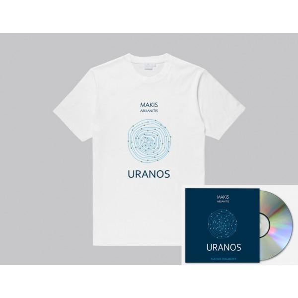 'Uranos' T-Shirt μαζι με 'Uranos' υπογεγραμμενο CD